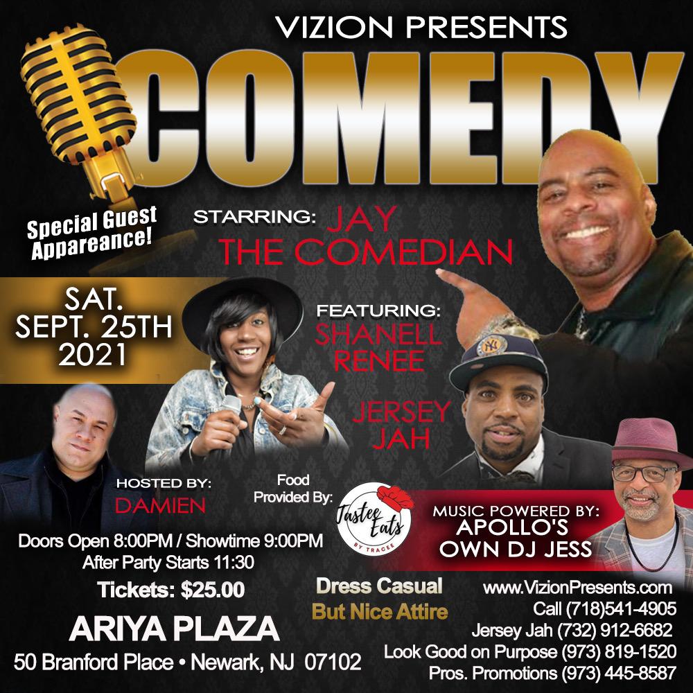 Vizion Presents Comedy